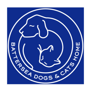 Battersea cats and dogs logo Gerrick Rose